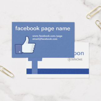 Like us on facebook template image collections template design ideas like us on facebook business cards images business card template like us on facebook business card colourmoves