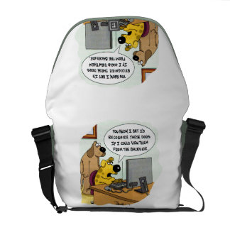 Facebook for Dogs Commuter Bags