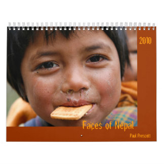 Faces of Nepal Calendars