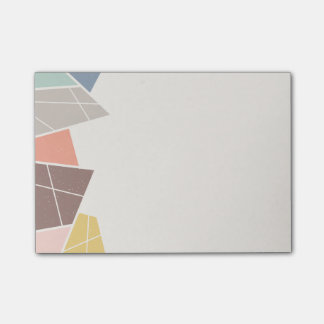 Facets (Small) - Mocha Post-it® Notes