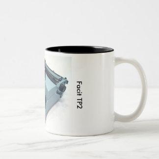 Facit TP2 typewriter Two-Tone Coffee Mug
