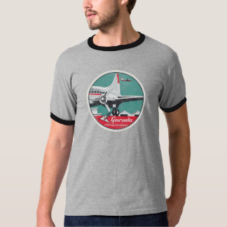 Faded & Distressed Vintage DC3 Airlines Shirt