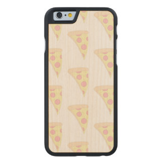FADED PIZZA iPhone 6/6s Slim Maple Wood Case