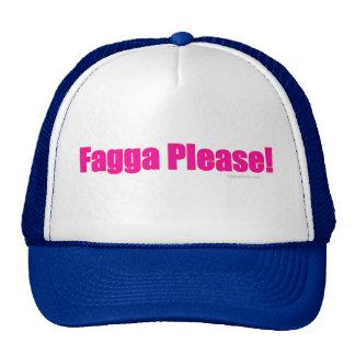 Fagga Please! Mesh Hats