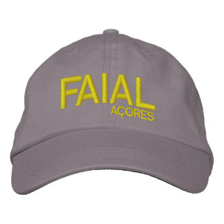 Faial* Açores Personalized Hat Embroidered Hat