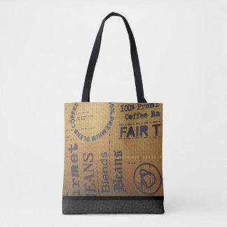 Fair Trade Coffee Burlap Sack - Tote Bag