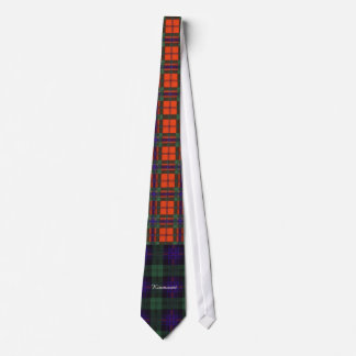 Fairbairn clan Plaid Scottish kilt tartan Tie