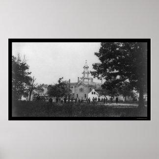 Fairfax Seminary in Alexandria, VA 1864 Poster