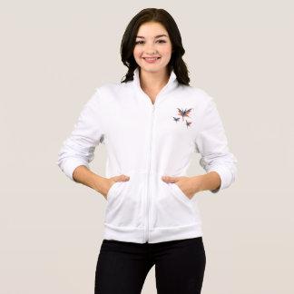 Fairies Women's Fleece Zip Jogger, White