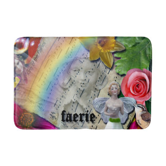 Fairy Collage Mug Original Design, Art, Bath Mat