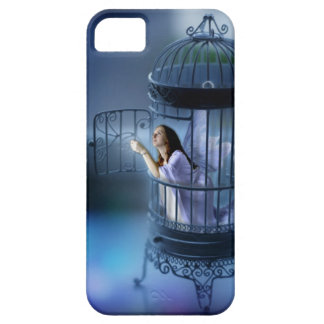 Fairy Escaping Her Gilded Cage iPhone 5 Covers