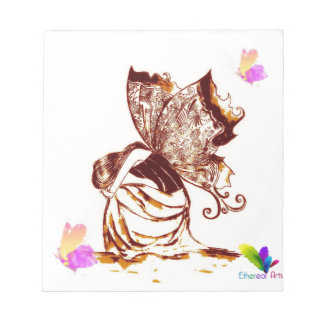 Fairy Girl Power Notepad
