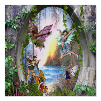 Fairy Kingdom Poster