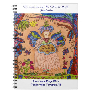 Fairy Of TENDERNESS Spiral Note Book