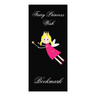 Fairy Princess Wish personalized name bookmark 10 Cm X 23 Cm Rack Card