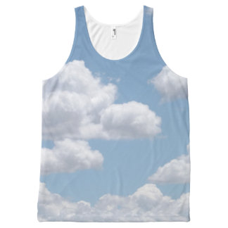 Fairy Tale Clouds All-Over Print Singlet