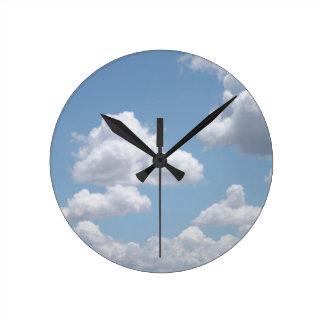 Fairy Tale Clouds Clock