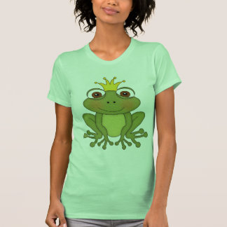 Fairy Tale Frog Prince With Crown Shirts