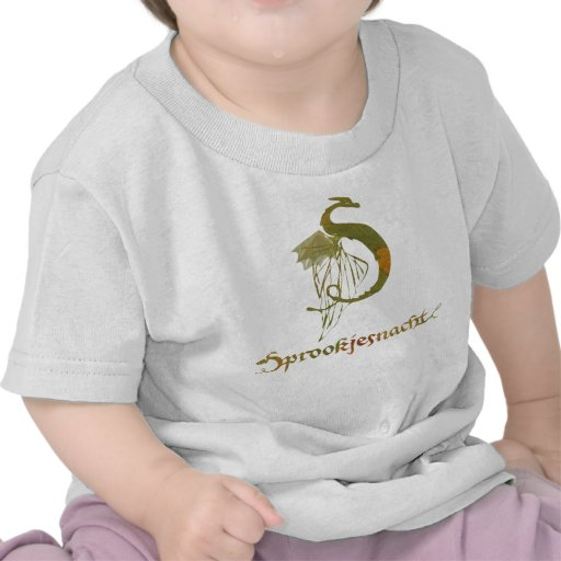 fairy tale night logo T-shirt peuters colour