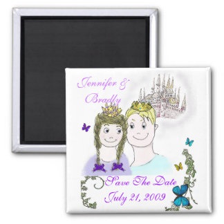 Fairy Tale Save the Date Magnet