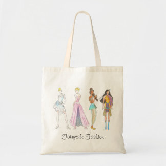 Fairytale Fashion Princess Gowns Tote