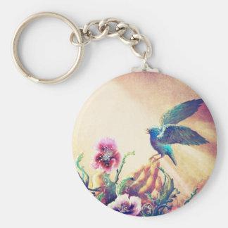 Faith Bird Key Ring