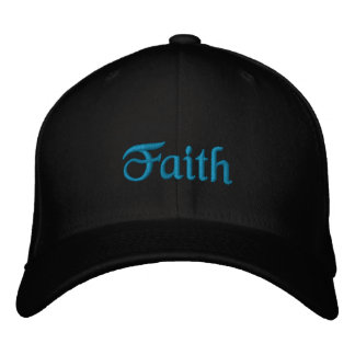 Faith hat embroidered hat
