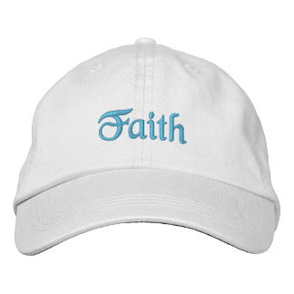 Faith hat embroidered baseball caps