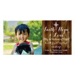 Faith Hope Love Vintage Christian Christmas