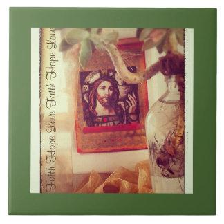 Faith in Jesus Tile