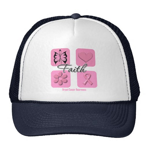Faith Inspirations Breast Cancer Hat