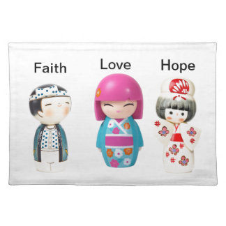 Faith Love Hope Placemat