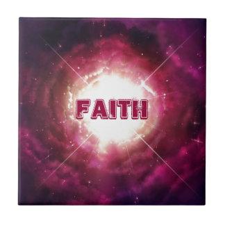 Faith & Love Small Square Tile