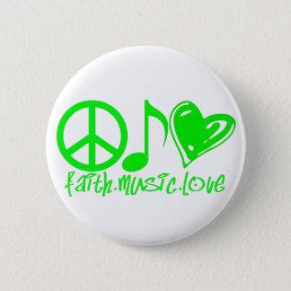 Faith.Music.Love. Standard Button