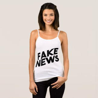 Fake News fashionable Post Truth Singlet