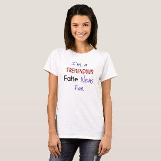 Fake News Political Protest Women's Tshirt