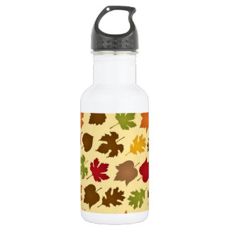 Fall Color Autumn Leaves Pattern 532 Ml Water Bottle
