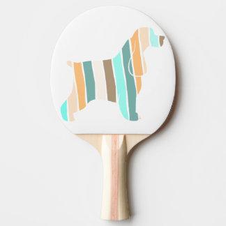 Fall Colors Cocker Spaniel Ping-Pong Paddle