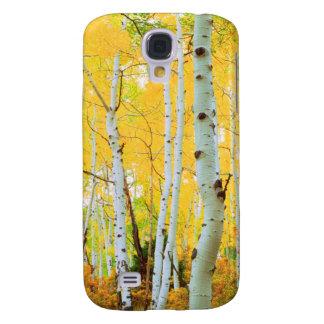 Fall colors of Aspen trees 1 Galaxy S4 Case