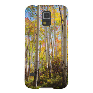 Fall colors of Aspen trees 5 Galaxy S5 Cover