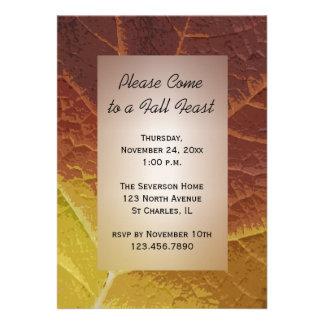 Fall Feast Invitation