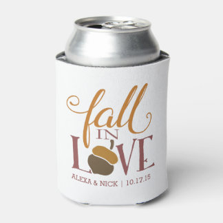 Fall in Love | Autumn Acorn Personalized Favor