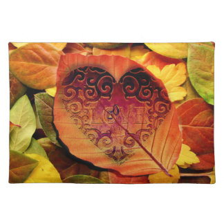 Fall in Love Placemat