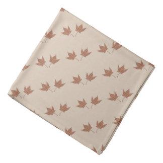 Fall Leaf Pair Bandana