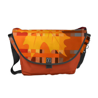 Fall n' Love With Plaid Messenger Bags