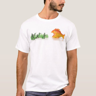 fall of the giant orange fish T-Shirt