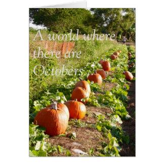 Fall Pumpkin Cards