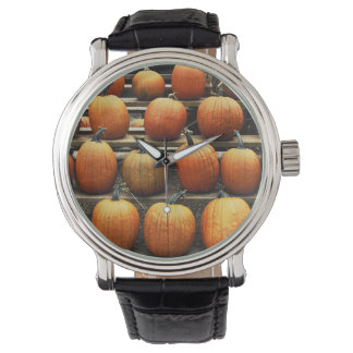 Fall pumpkins watch