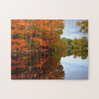 Fall Reflection Jigsaw Puzzle