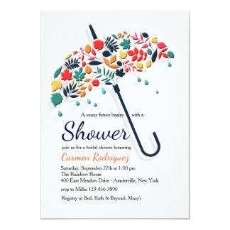 Fall Shower Umbrella Invitation